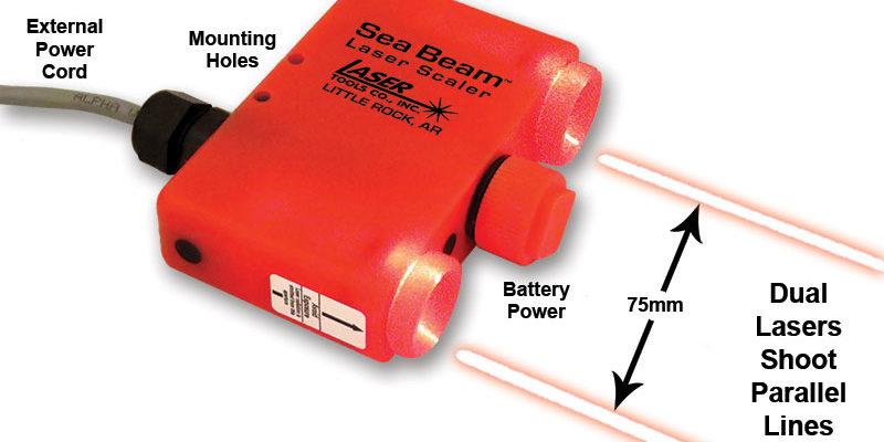 """ROV Laser Scaler SB10 and SB20 """"SEA BEAMs™"""""""