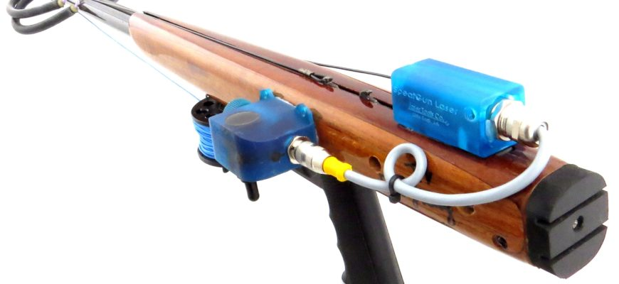 New Speargun Laser Aiming System